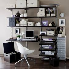Modular Desks Home Office Home Office Inspiring Black Iron Wall Shelves Computer Desk Plus