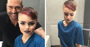 Becoming A Makeup Artist 8 Year Old Boy Wanted To Learn Makeup And His Mom Bought Him A