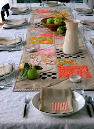 modern thanksgiving table topper allfreesewing