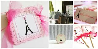 paris party centerpieces in pink adore by nat
