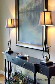 Decorating Entryway Tables Pinterest Foyer Table Decor View In Gallery Small Entryway Table