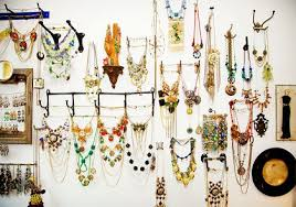 unique ways to hang pictures 50 fun ways to hang your jewelry broke healthy