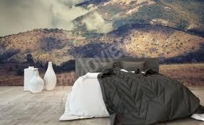 papier peint chevaux pour chambre papiers peints chambre à coucher mur aux dimensions myloview fr