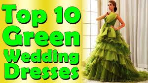 top 10 green wedding dresses nfx fashion tv youtube