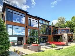 luxury log cabin plans modern gas kitchen with fish tank and open plan pillars rukle