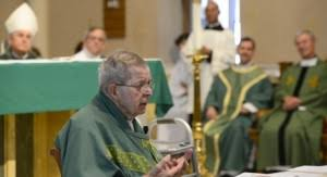 monsignor smith honored with mass of thanksgiving catholic