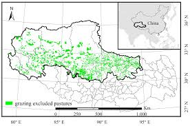 Tibetan Plateau Map Sustainability Free Full Text Grazing Exclusion To Recover