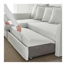 Sleeper Sofas With Chaise Holmsund Sleeper Sectional 3 Seat Nordvalla Medium Gray Ikea