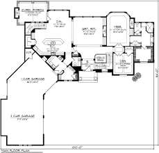 european style house plan 4 beds 4 50 baths 4495 sq ft plan 70 1129