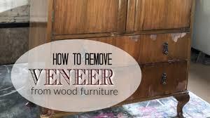 how to wood veneer furniture how to remove wood veneer from furniture