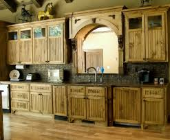 Dark Cherry Wood Kitchen Cabinets by Kitchen Elegant Solid Wood Kitchen Cabinet Ideas Featuring Modern