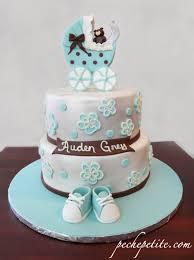 baby boy shower cakes peche petite