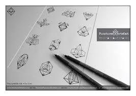 punctured artefact flash tattoo design symbolic geometric ink
