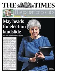 crush the saboteurs u0027 british newspapers react to general election