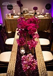 Black Gold Wedding Decorations Fuschia And Gold Wedding Decorations Decor Savannah Wedding