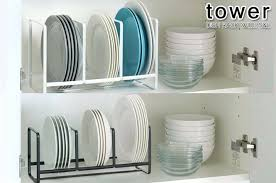 Kitchen Cabinet Plate Rack Storage Kitchen Cabinet Plate Rack Storage Cabinets Sliding Racks Medium