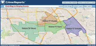 san jose district map western division