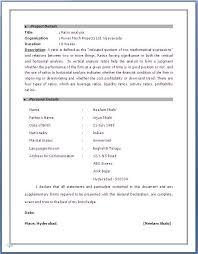 Sap Resume Examples by Exciting Sap Fico Sample Resume 3 Years Experience 45 For Your