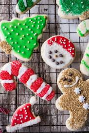eggnog scented sugar cookies with easy vanilla icing half baked
