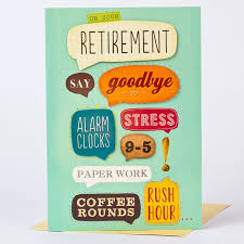 retirement card retirement card enjoy yourself only 1 49
