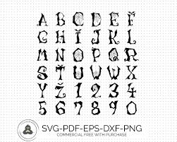 halloween font svg fonts monogram fonts monogram font svg