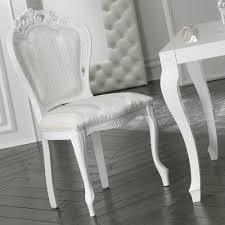 Modern White Dining Chairs High End Modern White Rococo Dining Chair Juliettes Interiors
