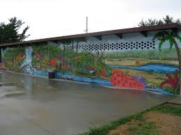 douglass riverview news and current events september 2011 murals more also painted the sides of the riverview splash pad building in a safari theme 5 years