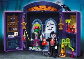 Halloween Monster House Haunted House Play Box 5638 Playmobil Usa