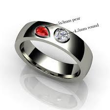 ring with birthstones birthstone wedding ring urlifein pixels
