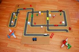 printable road maps printable road maps for toy cars fun family crafts