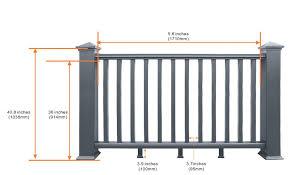Deck Handrail Balustrade De Terrasse Rails Composites Pour Terrasses