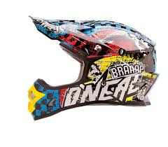 oneal 3 series kids wild multi motocross helmet