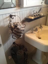 Hanging Baskets For Bathroom Storage Hanging Baskets For Bathroom Storage Diy Pinterest Bathroom