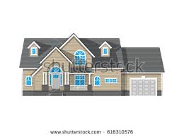 House With Garage Brick House Stock Images Royalty Free Images U0026 Vectors Shutterstock