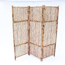 Antique Room Divider by Antique Vintage Bamboo Screen Room Divider Rattan Great Patina