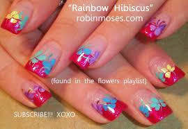 robin moses nail art cutest rainbow nail art cutest rainbow
