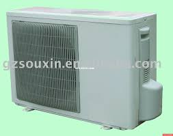 wall mounted air conditioner unit with remote control