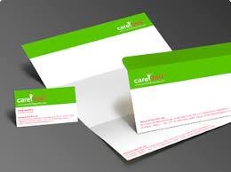 single page brochure design for health care privilege program