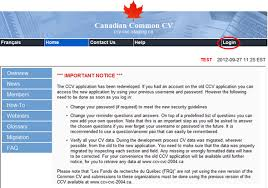 What Does Publications Mean On A Resume How To Use The Canadian Common Cv Ccv