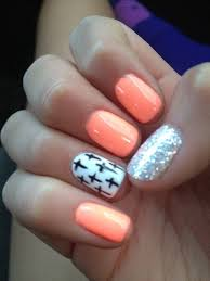 best 25 peach colored nails ideas on pinterest summer shellac