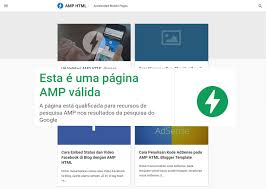 amp blogger template download mybloggerseo