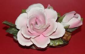 capodimonte roses capodimonte porcelain with fleur de lis or crown n