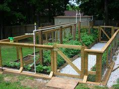 vegetable gardens never thought about putting a wire u0026 wood