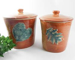 pottery kitchen canisters canister set kitchen canisters ceramic canisters pottery