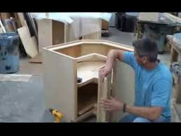 Hanging Doors On Lazy SusanPie Cut Cabinets YouTube - Lazy susan kitchen cabinet hinges