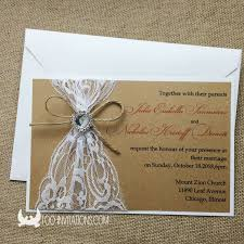 Vintage Lace Wedding Invitations Lace Wedding Invitations Free Shipping
