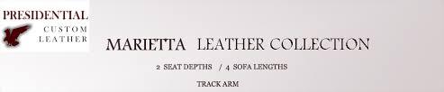 Sofa Lengths Marietta Maxwell Extra Deep Leather Sofa Leathershoppes Com