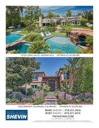 real estate listings calabasas style magazine