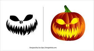 halloween pumpkin carving templates 10 free halloween scary pumpkin carving patterns u0026 stencils