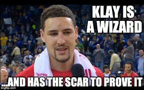 Kevin Love Meme - klay thompson and kevin love went dancing during game 3 and the